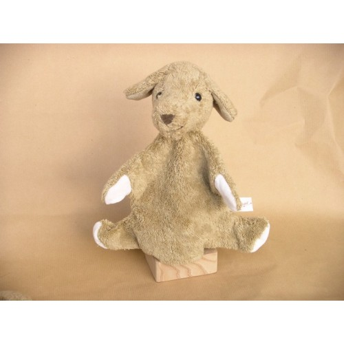 Animal Hand Puppet Dog Organic Cotton of Kallisto