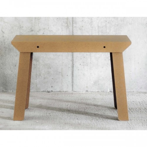 Recycled Cardboard Table T4 natural | room in a box