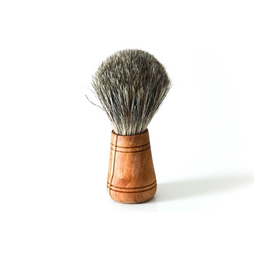 Sir George Badger Hair Brush with Olive Wood Handle | D.O.M.