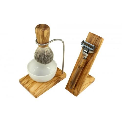 Olive Wood Shave Set DESIGN, 5 piece   Olivenholz erleben