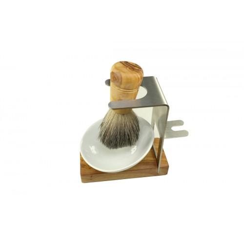 Men's Shaving Set AMRUM, 3 pieces, with Badger Hair Shaving Brush | D.O.M.
