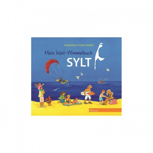 Children's Picture Book Mein Insel-Wimmelbuch SYLT