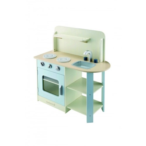 EverEarth Big Wooden Kid's Kitchen FSC wood