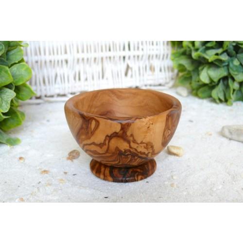 Olive Wood Shaving Mug | Olivenholz erleben