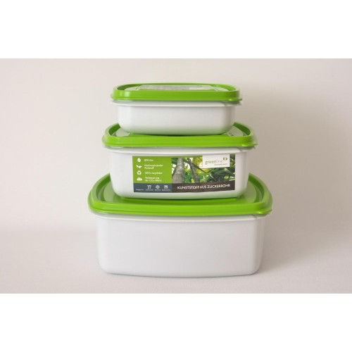 Greenline square Food Storage Container Set - Gies