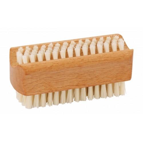 Nagelbürste aus Buchenholz helle Borste