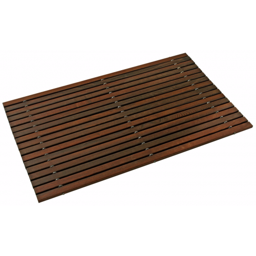 Bath Mat – Wood Rug Thermowood oiled | Redecker