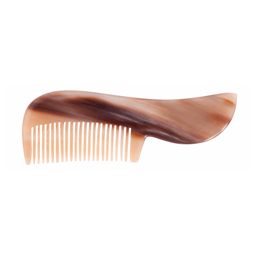 No more plastic: Beard Comb made of Horn | Redecker