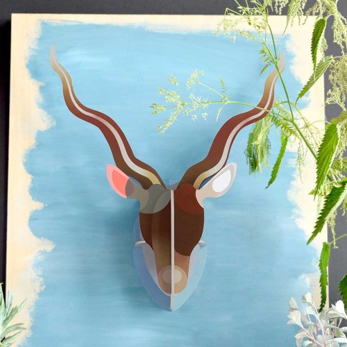 3D Wall Decoration Antelope » studio ROOF