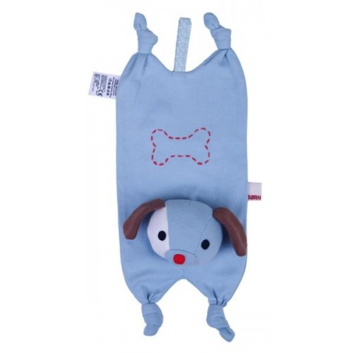 Dog Cuddly Cloth (organic cotton) with Soother Holder