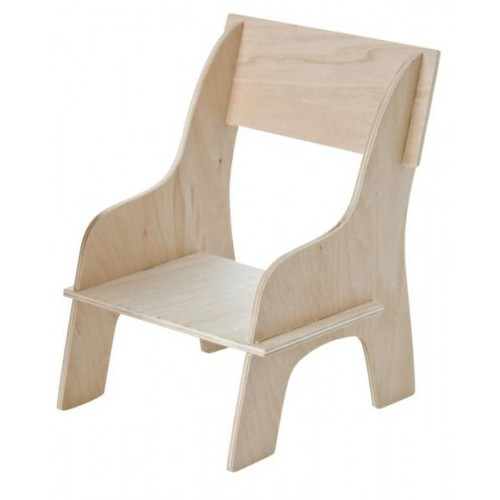 Wooden Chair for Monkey Doll & Soft Toy   Franck & Fischer