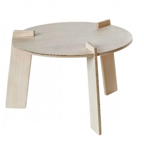 Wooden Table for Monkey Doll & Soft Toy | Franck & Fischer