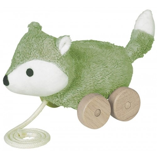 MINGUS, the Fox Pull Toy of organic cotton | Franck & Fischer