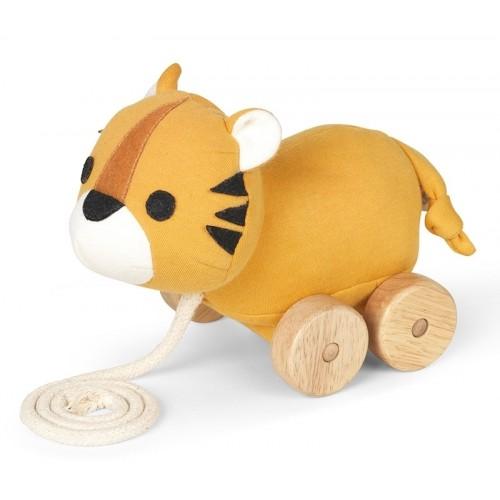 Organic Pull Along Toy Tiger Tom » Franck & Fischer