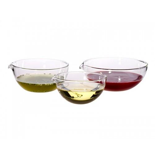 Glas Schüssel-Set mit Deckel 6-teilig