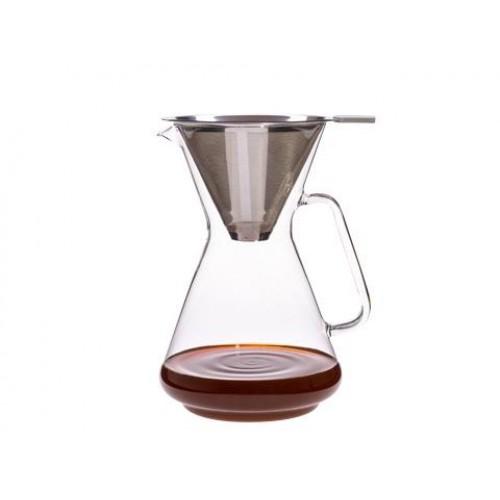 Kaffeebereiter BRASIL I m. Edelstahlfilter | Trendglas Jena