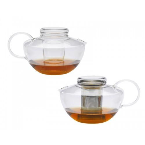 Teekanne KANDO mit Edelstahlfilter oder Glassieb