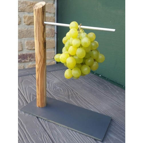 Wine Grape Holder from Olive Wood - eco grape tree | D.O.M.