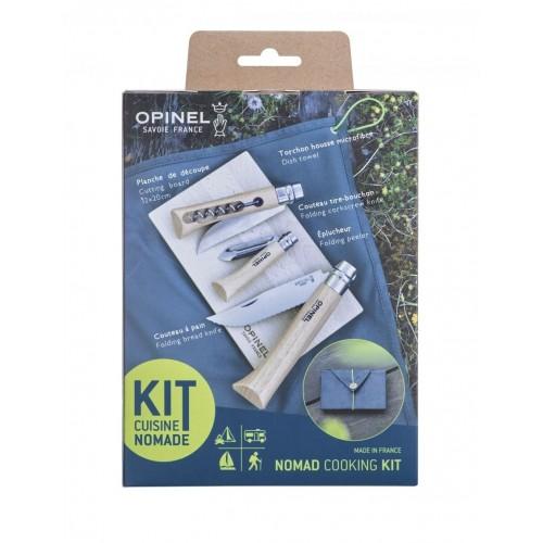Opinel NOMAD Kit – Outdoor & Picknick Set – langlebig