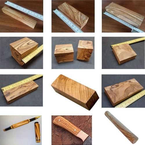 Raw Olive Wood Block various sizes - DIY » D.O.M.