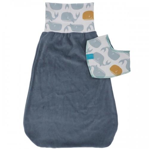 Newborn Baby Gift Set Swaddle Bag & Bib » bingabonga