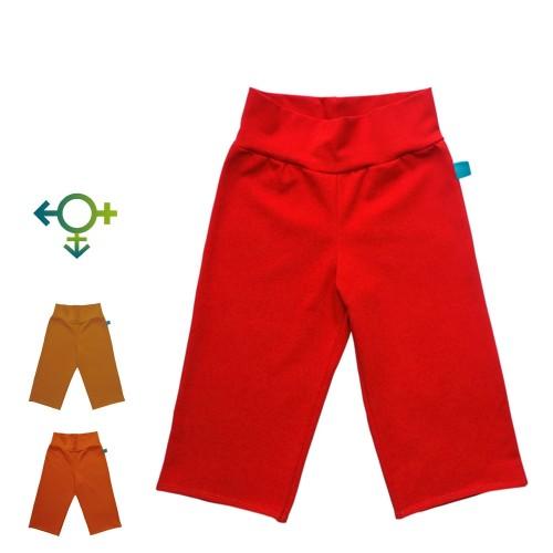 Junior Capri Trousers Plain, Organic Jersey | bingabonga