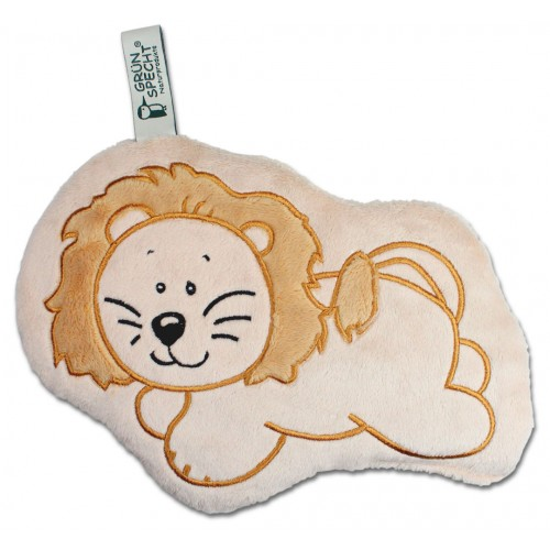 Heatable Zoo Lion - heating cushion for children  | Gruenspecht