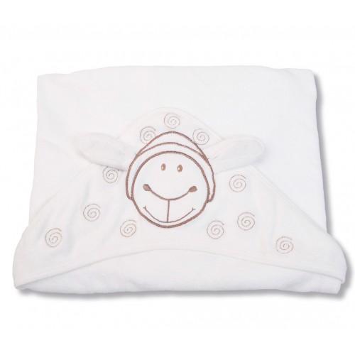 GOTS organic towel with hood for children   Gruenspecht