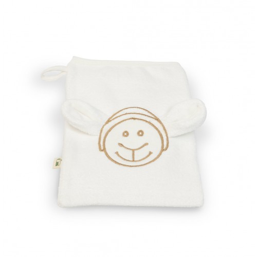 GOTS organic cotton Wash Glove for children | Gruenspecht