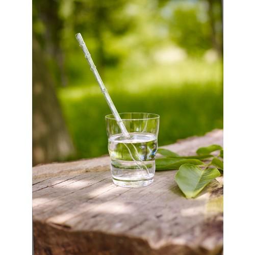Nature's Design Drinking Straw CALAMUS of lead-free glass
