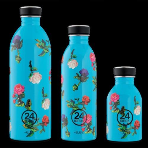 24Bottles® Rosabyte Urban Bottles water flask