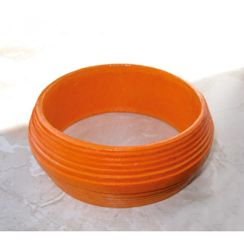 Lively Eco Bracelet in Orange | Sundara Paper Art