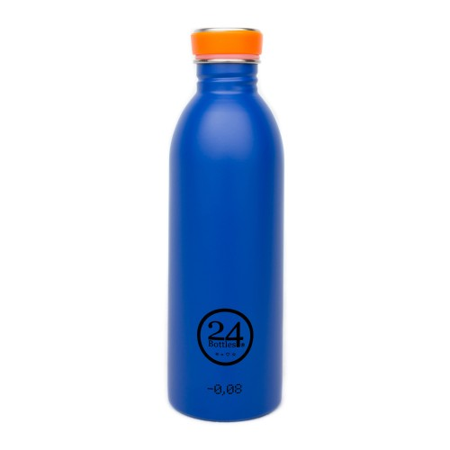 Stainless Steel Drinking Bottle 0.5L gold blue | 24Bottles