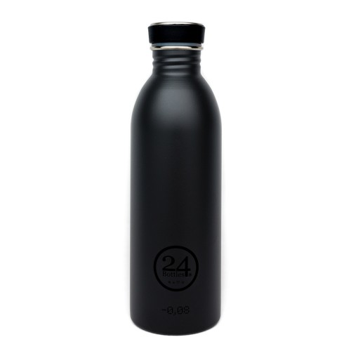 Stainless Steel Drinking Bottle 0.5L tuxedo black | 24Bottles