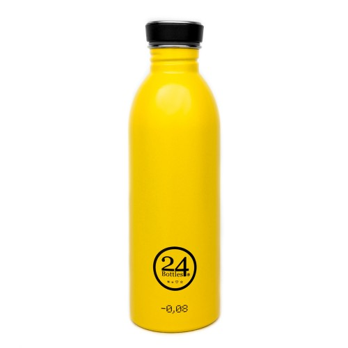 Stainless Steel Drinking Bottle 0.5L taxi yellow | 24Bottles