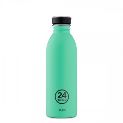 24Bottles Urban Bottle Stainless Steel Mint 0.5 l