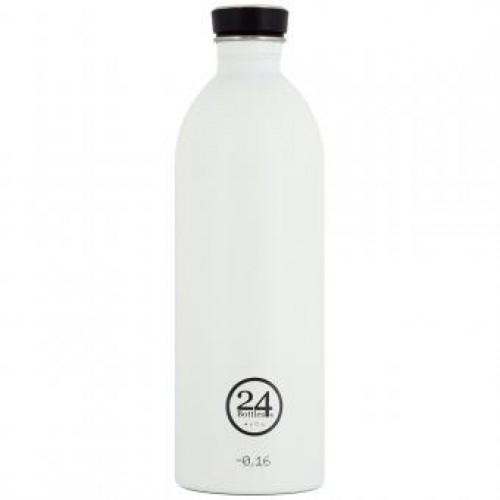 24Bottles Urban Bottle Stainless Steel Ice White 1 L