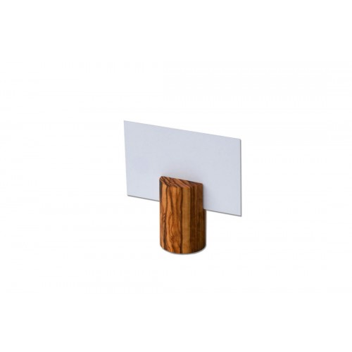 Holder for Business Cards of Olive Wood | Olivenholz erleben