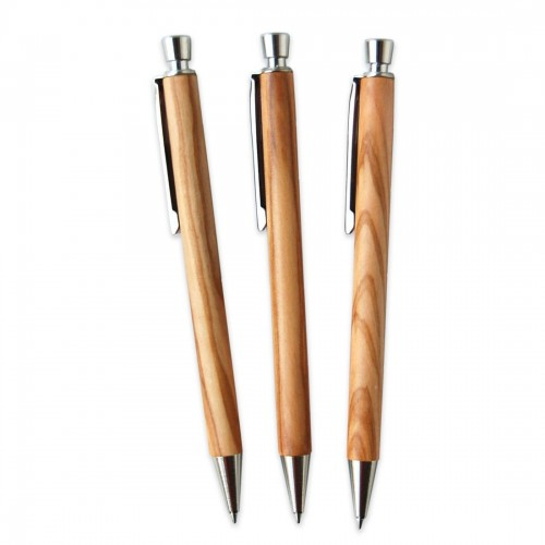 Ballpoint Pen made of Olive Wood, engraving possible | D.O.M.