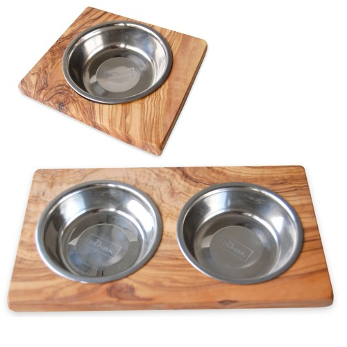 Dog and Cat and Pet Feeder Bowls LUCKY | D.O.M.
