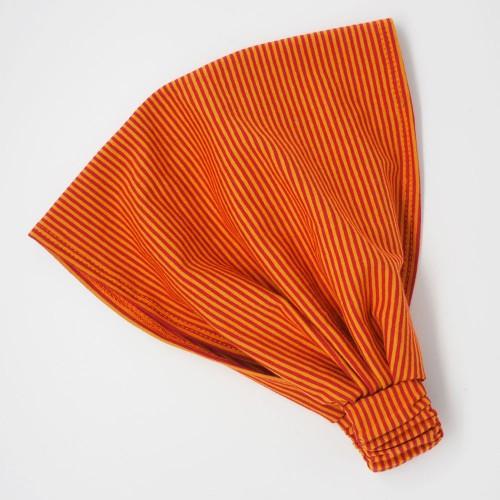 Organic Jersey Stretchy Hairbands Bicolour Small Striped » bingabonga