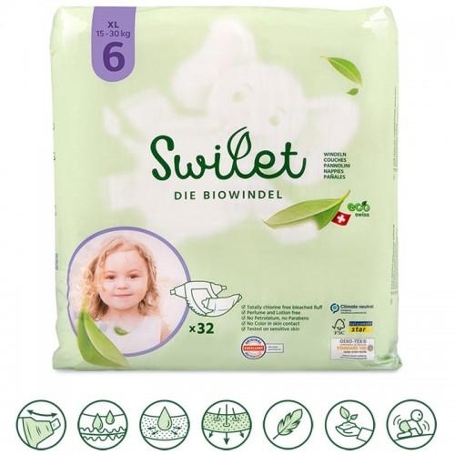 Kids Organic Nappies XL15-30Kg » Swilet