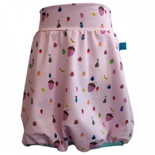 Bubble Skirt Little Fruits Print, Organic Cotton » bingabonga