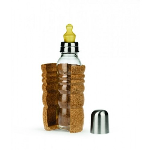 Nature's Design Thank You Baby Bottle 0.3 l Cork Sleeve