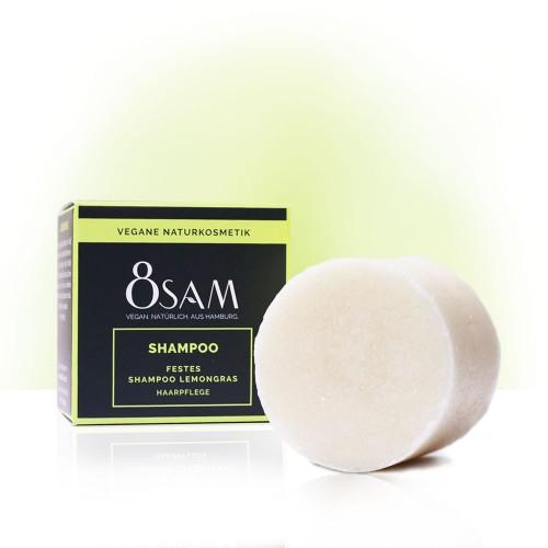 8SAM vegan Shampoo Bar Lemongrass