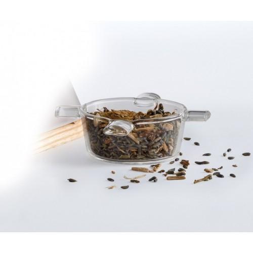 Nature's Design Spare Borosilicate Glass Incense Bowl for Lantern Odoris