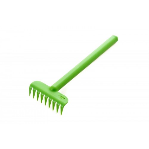 Rake made from bioplastics