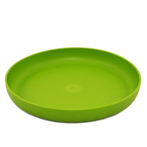 Colourful Plates from Bioplastics - Lime | ajaa!