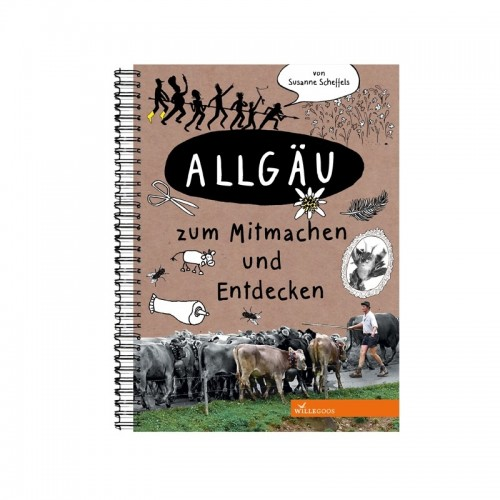 Allgäu – German Hands-on book for children | Willegoos