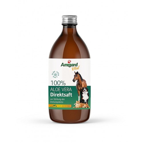 Amigard Aloe Vera NFC Juice for Dogs, Cats & Horses